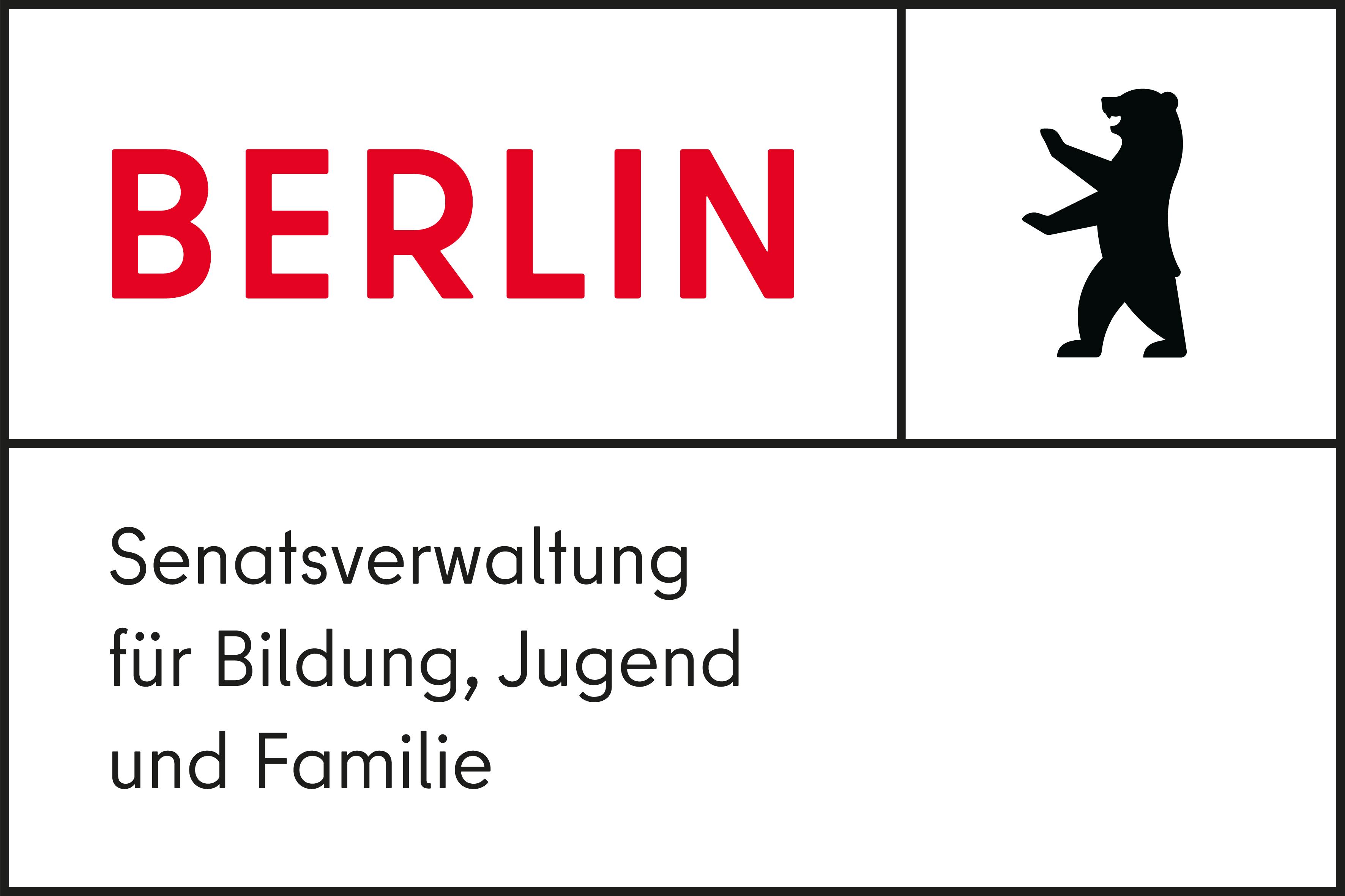 Logo der Senatsverwaltung für Bildung, Jugend und Familie